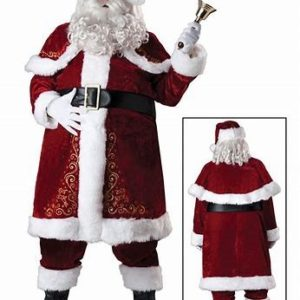 Jolly Saint Nick Suit Classic Claus