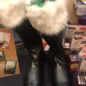 Santa Boots Classic Claus
