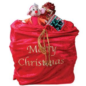 Santa Sack Economy Red Classic Claus