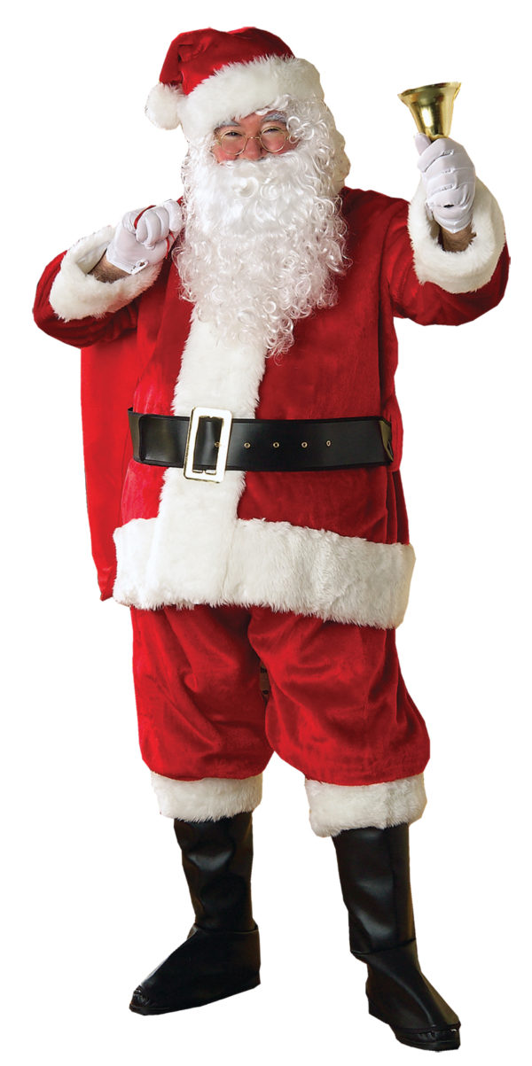 Santa Suit Economy Red Classic Claus